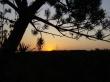 Sunset over Hill - scenery wallpaper