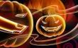 Neon Halloween - halloween wallpaper