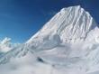 Alpamayo Peak - winter wallpaper