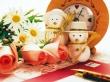 Snowman Toys - christmas wallpaper