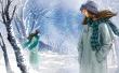 Winter Park Walk - winter wallpaper