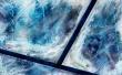 Frozen Window - winter wallpaper