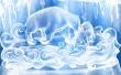 Ice Figures - winter wallpaper