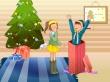Surprise Present - christmas wallpaper