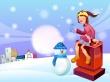 Winter Buddy - christmas wallpaper
