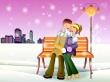Romantic Winter - christmas wallpaper