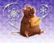 Rat Greetings - christmas wallpaper
