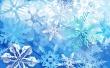 Ice Flakes - christmas wallpaper