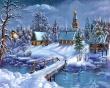 Peaceful Night - christmas wallpaper