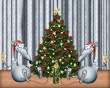 Rats Celebrating - christmas wallpaper