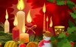 Christmas Candles Wallpaper Preview