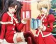 Manga Christmas - christmas wallpaper