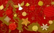 Stars and Balls - christmas wallpaper