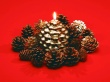 Horned Candle - christmas wallpaper
