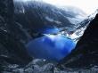 Blue Lake Mountains - scenery wallpaper