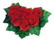 Leaf Roses Heart - valentines wallpaper