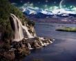 Wonderfall - landscape wallpaper