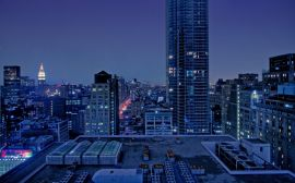 City roof tops - usa wallpaper