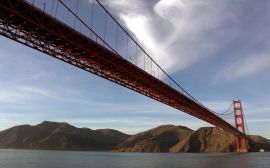 Golden Gate bridge - usa wallpaper
