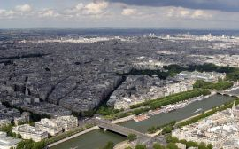 Eiffel tower view - france wallpaper