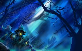 Haunted mansion - halloween wallpaper