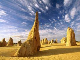 The Pinnacles - australia wallpaper