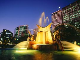 Victoria Fountain - australia wallpaper