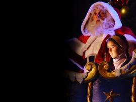 Disneyland Santa - christmas wallpaper