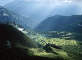 Tibet Fields - china wallpaper
