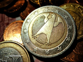 German 2 Euro Coins - germany wallpaper