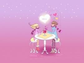 Love Juice - valentines wallpaper