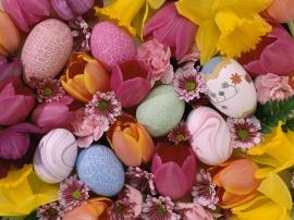 Easter Pastels - easter wallpaper