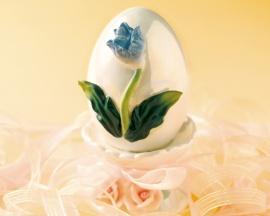 Flower on Egg - easter wallpaper