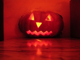 Red Pumpkin - halloween wallpaper