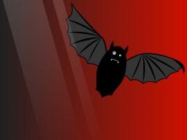 Bat Splat - halloween wallpaper