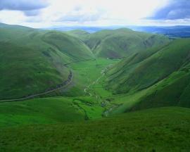 Dumfriesshire Hills - scotland wallpaper