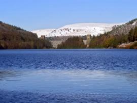 Derwent Dam - landscape wallpaper