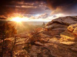 Sunny Canyon - scenery wallpaper