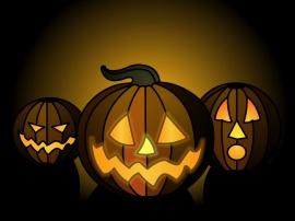 Halloween pumpkins - halloween wallpaper