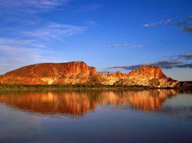 rainbow valley - australia wallpaper