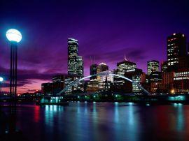 Melbourne sunset - australia wallpaper