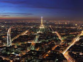 Paris night lights - france wallpaper