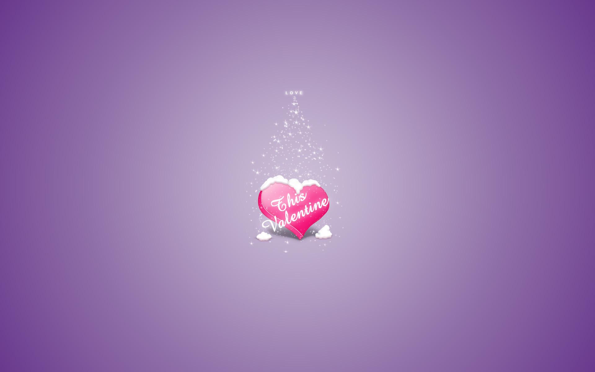 purple love valentine day - photo #41