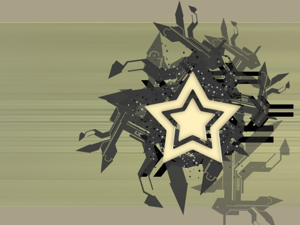 Watch the stars - abstract wallpaper