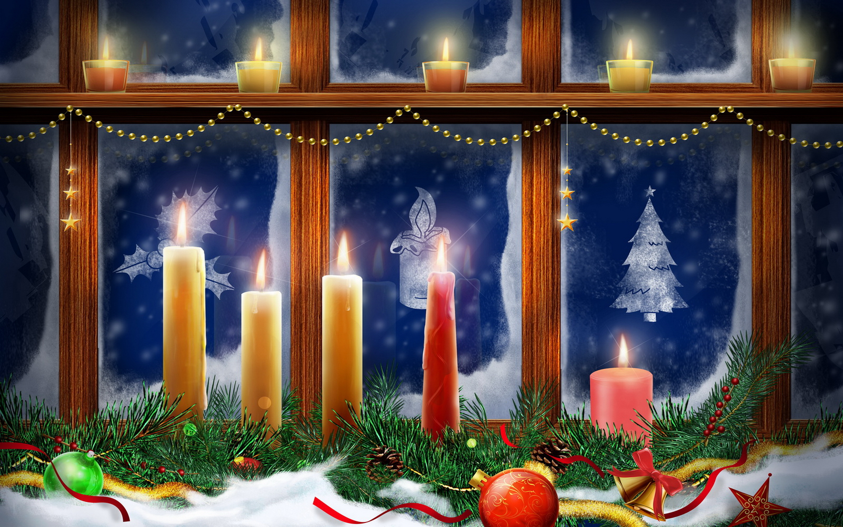 christmas wallpapers - saversplanet